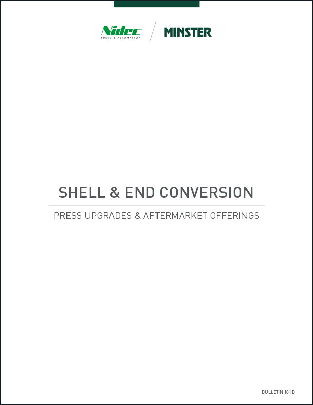 Shell and End Conversion Press Upgrades