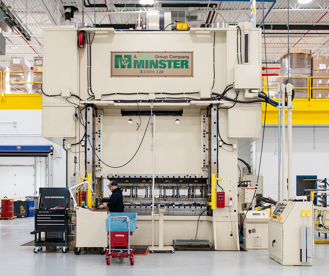 Minster E2-800 Press