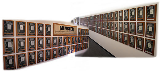 Nidec Minster Wall of Patents