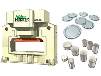 Nidec Minster MP1-90 Press