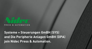 SYS joins Nidec Press & Automation.