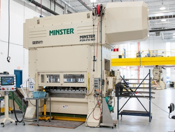 Minster Presses at Brunk Industries