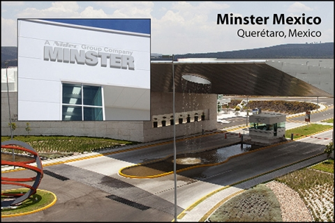 Nidec Minster Corporation has opened a regional Customer Service Center in Querétaro, Mexico