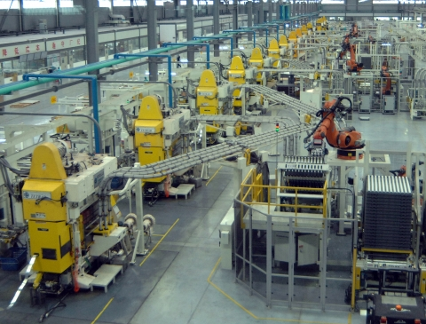 Nidec Minster EC Presses at Baofeng