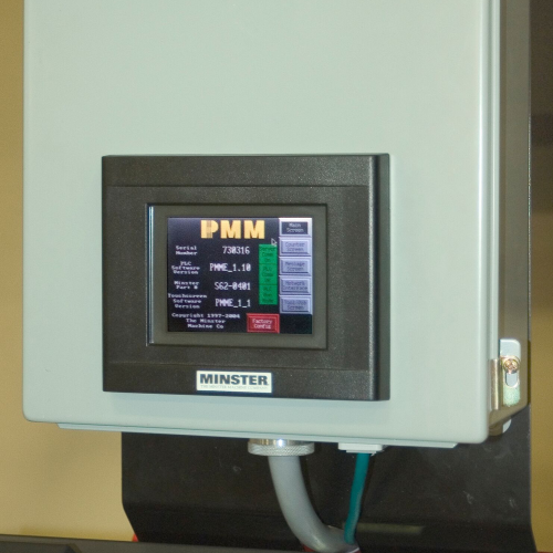 Unidad de control Production Machine Monitor (PMM)
