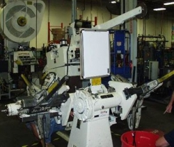 "Littell 12"" Wide Production Master Servo Feed Line"