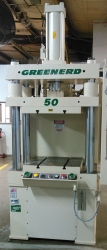Greenerd 4D-50-30 x 24-30R12 4 post hydraulic Press